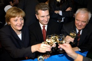 Alkohol-Politiker-Merkel-Oettinger-Stolpe-DW-Politik-Berlin